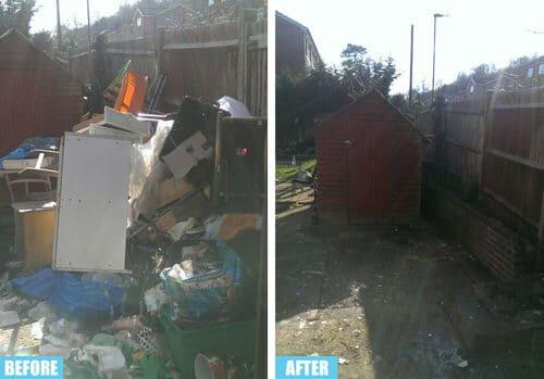 Rayners Lane rubbish collector HA5