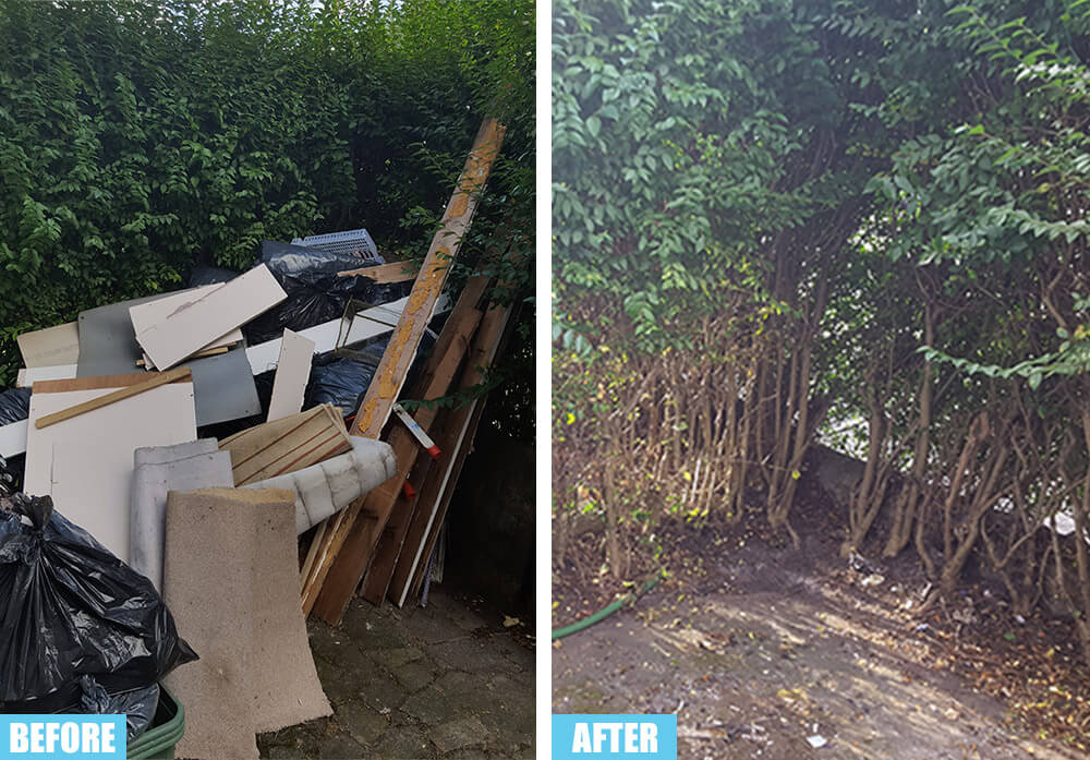 Anerley permit for a skip SE20