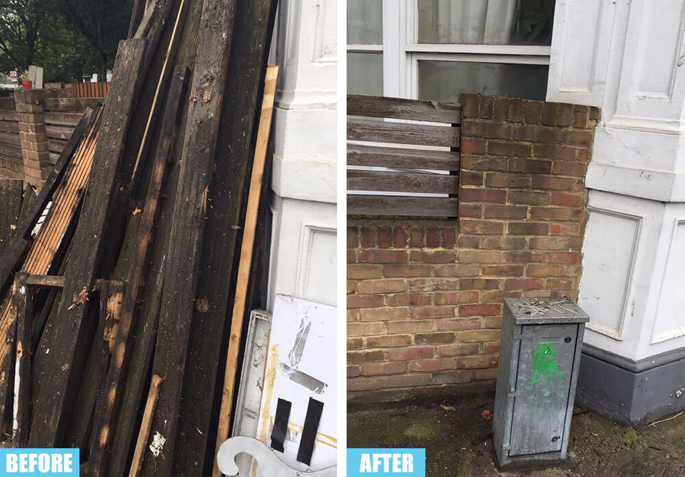 Forest Hill removing junk SE23