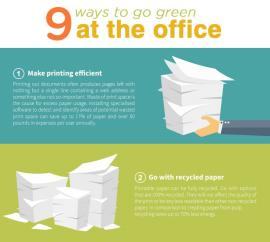 9 Ways to Go Green at the Office