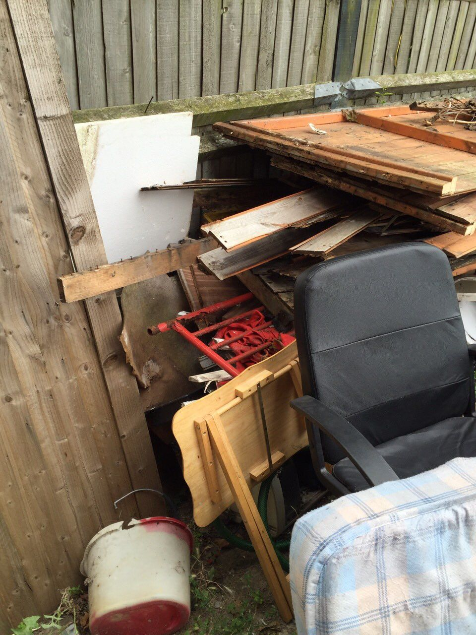 E18 building junk removal South Woodford