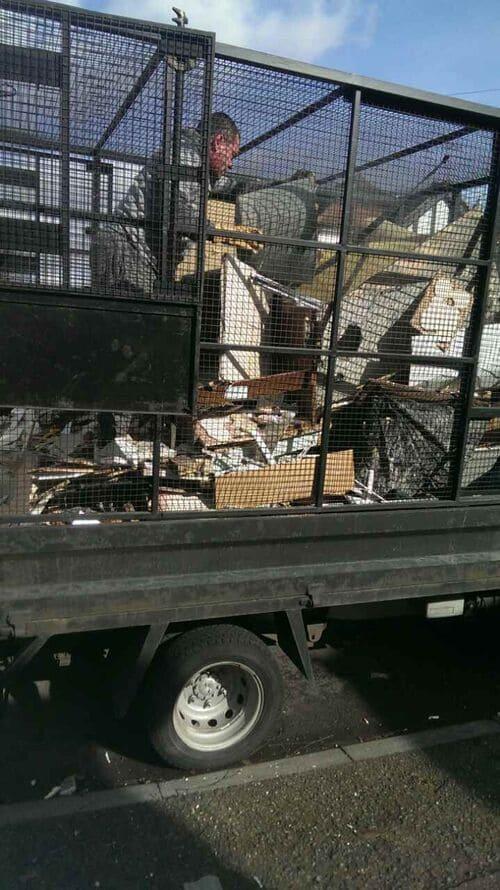 building site clearance company E15