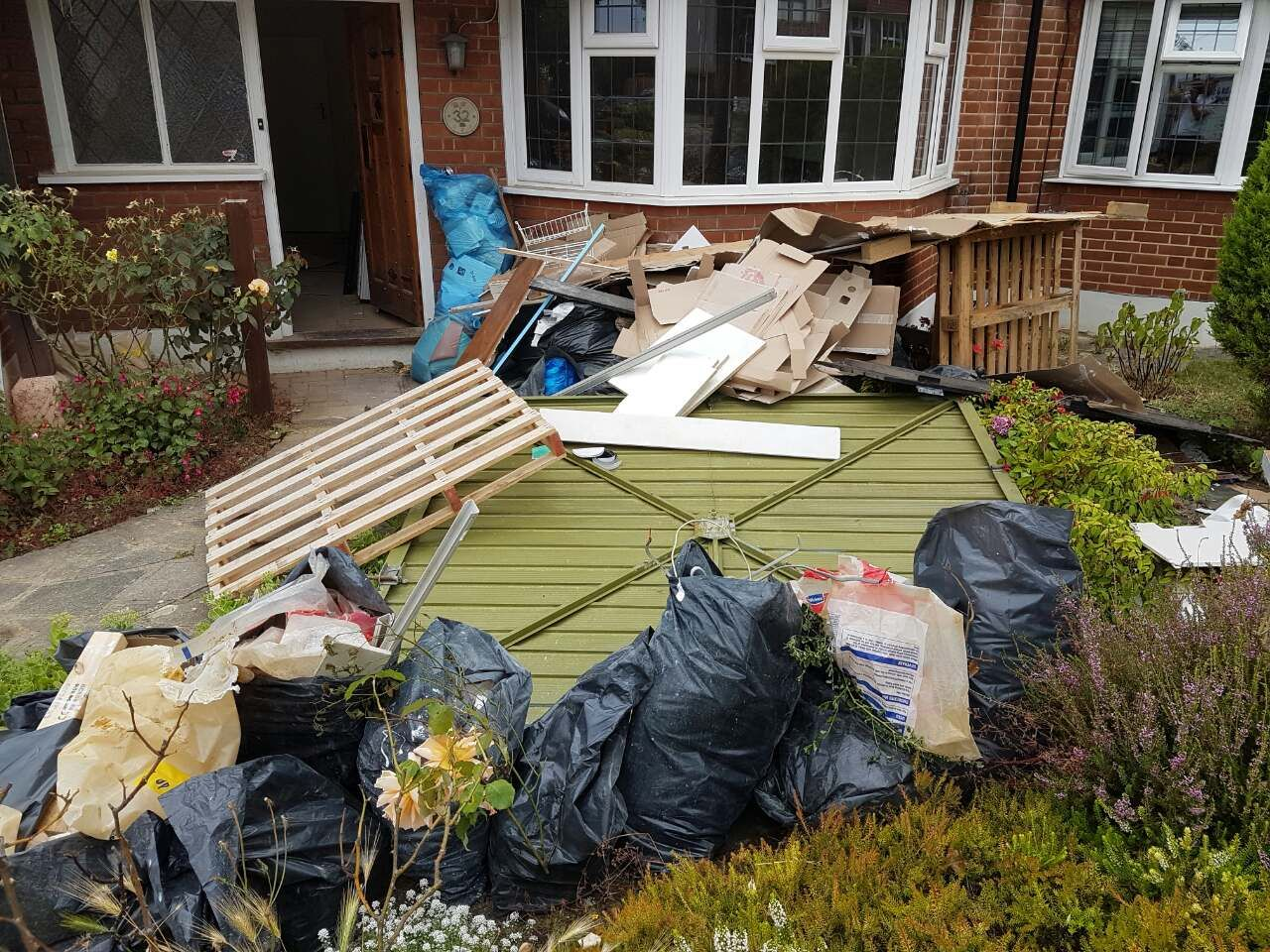 Crayford domestic rubbish clearance DA1