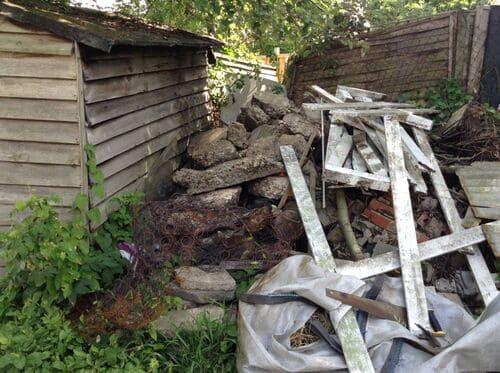 N11 flat waste clearance Friern Barnet