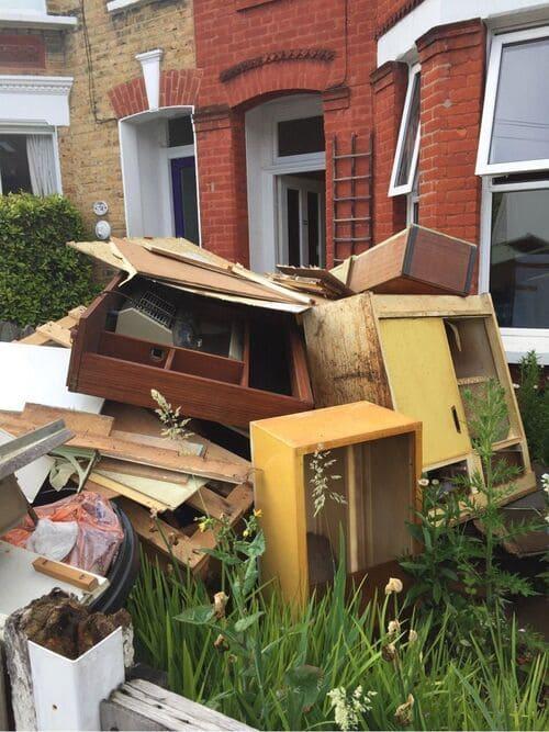 W2 flat waste clearance Paddington