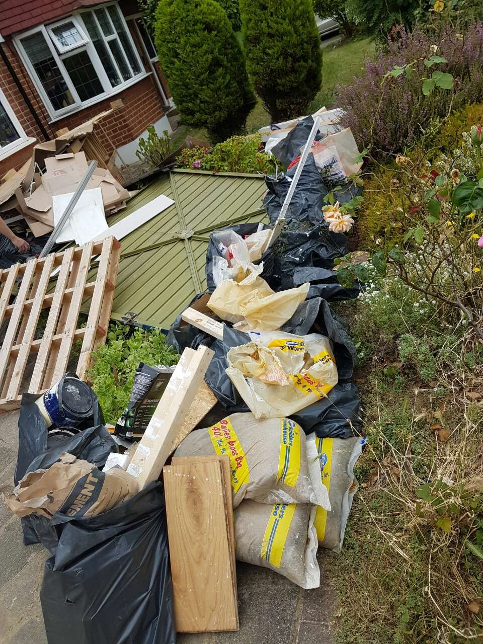 Bishop's Stortford garden waste removal CM22