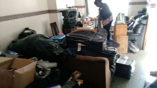 Snaresbrook disposing waste E11