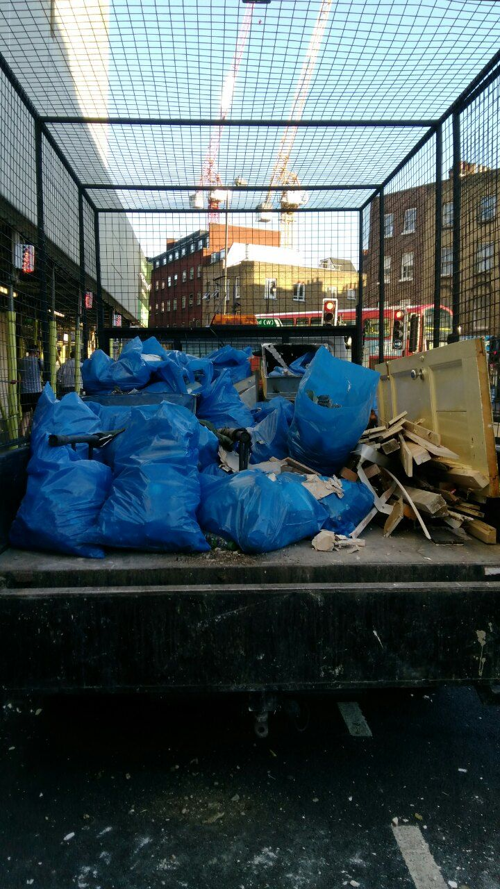 W1 junk removal companies Bond Street