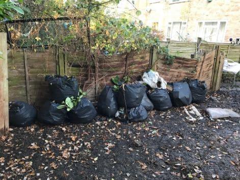 St John's Wood disposing waste NW8