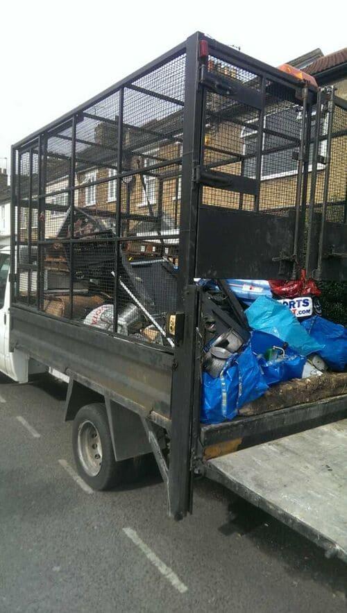 Leyton disposing waste E10