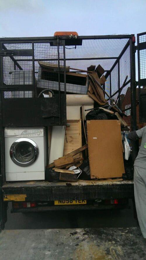 Colney Hatch disposing waste N11