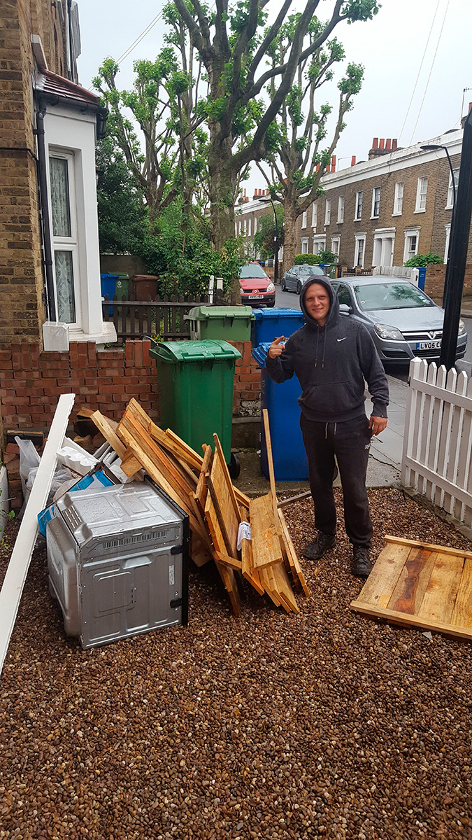 TW1 recycling of waste Strawberry Hill