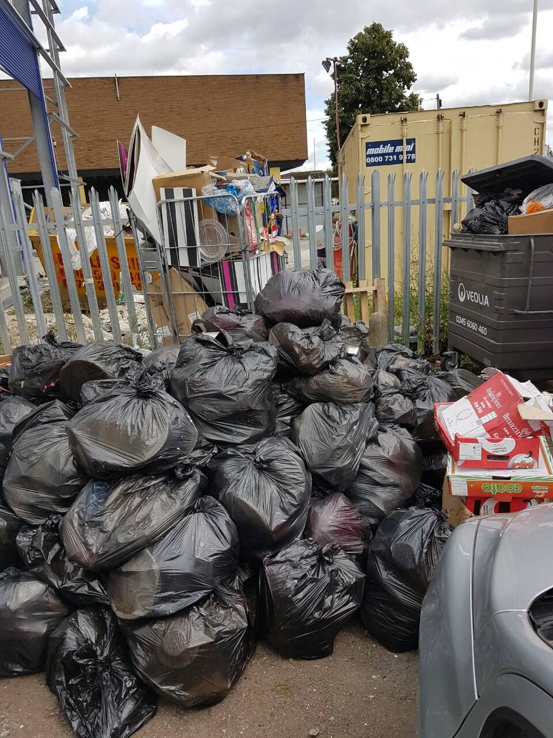 NW3 recycling of waste Gospel Oak